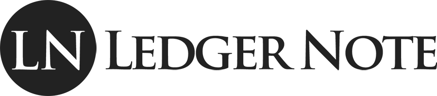 ledger note logo big