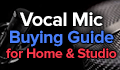 best vocal microphones for home and studio recording