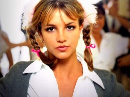 britney spears video screen cap