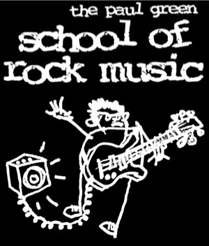 paul green school of rock logo