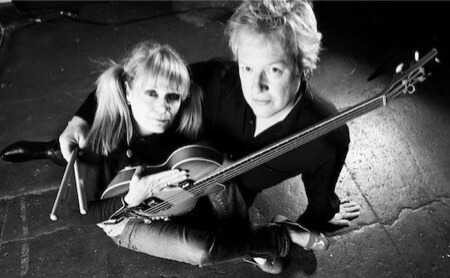 tina weymouth and chris frantz