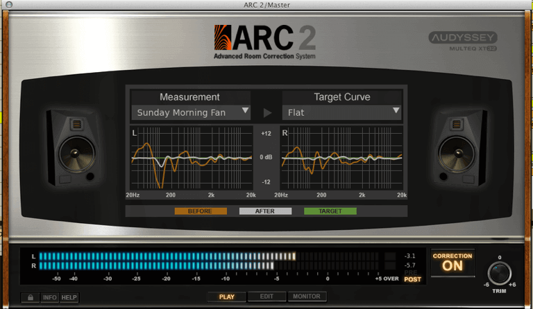 room correction plugin ARC2