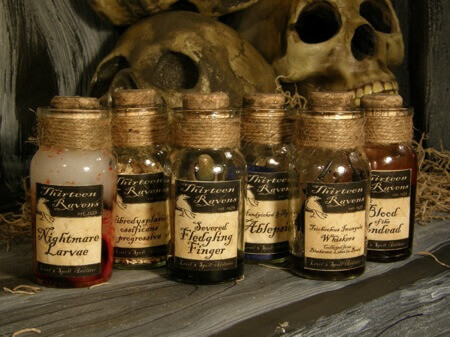 witch potions