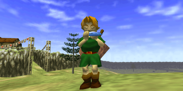 legend of zelda game screenshot