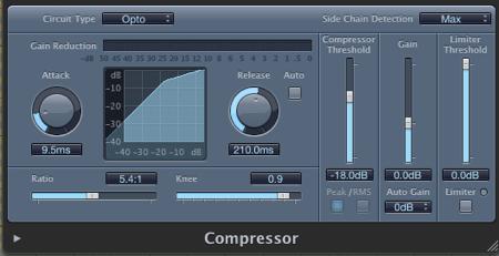 logic pro compressor