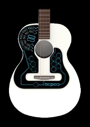 acpad thin midi controller for guitar