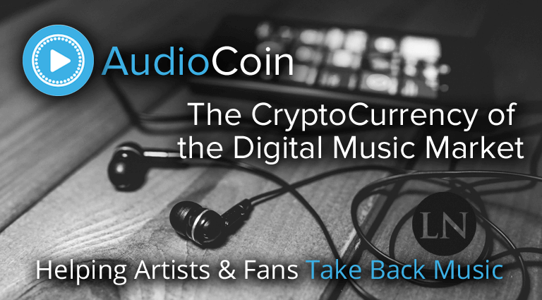 audiocoin for the digital music market