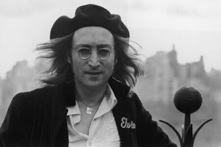 John Lennon in Elvis Jacket