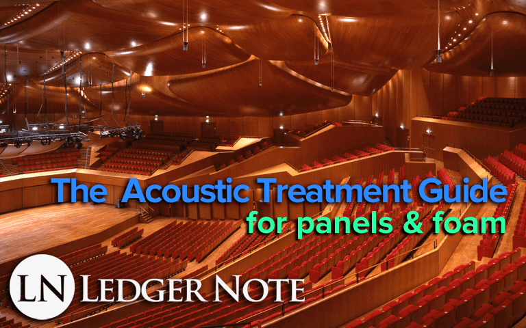 the acoustic treatment guide for panels and foam