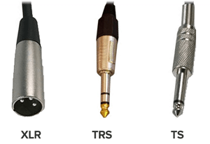analog cable types for recording studios