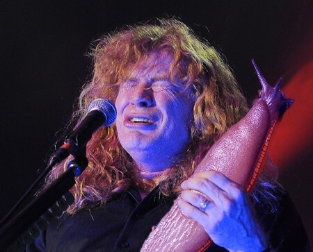 dave mustaine megadeath slug