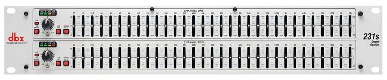 dbx-231sv stereo 31-band equalizer