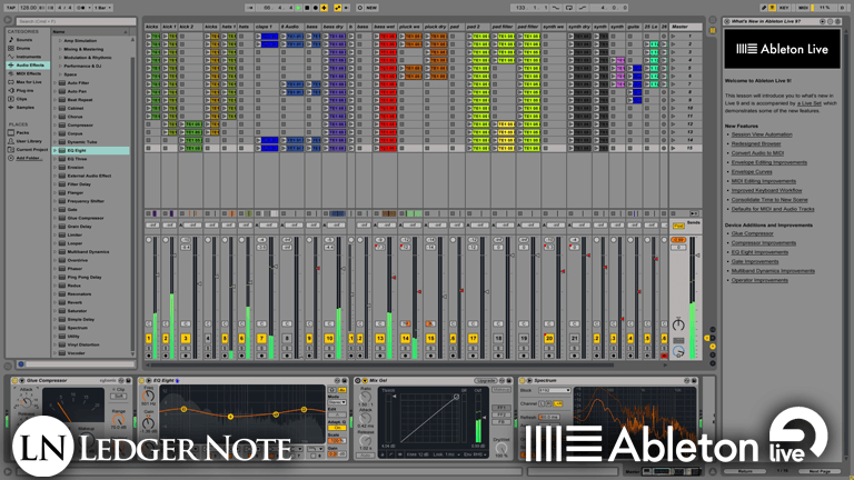 ableton live 9 - the preferred digital audio workstation of the dubstep maker