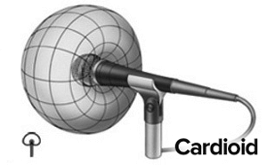 cardiod pickup pattern is the best for vocal recordings