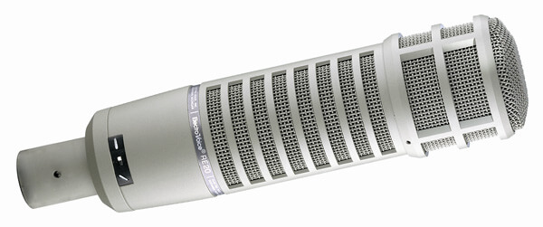 electro voice re-20 cardioid dynamic microphone