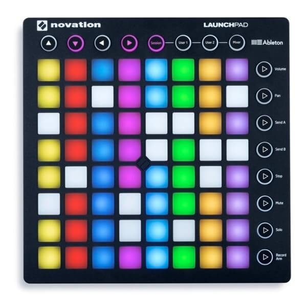 novation launchpad electronic music controller