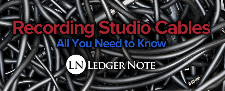 recording studio cables