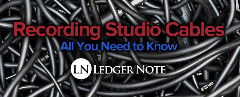 recording studio cables
