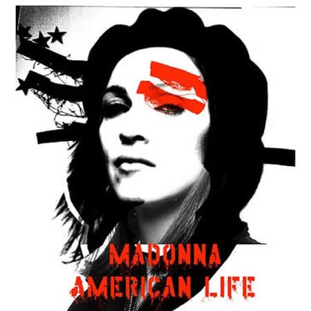 Madonna American Life album cover art