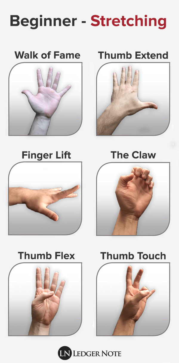 beginner hand stretches