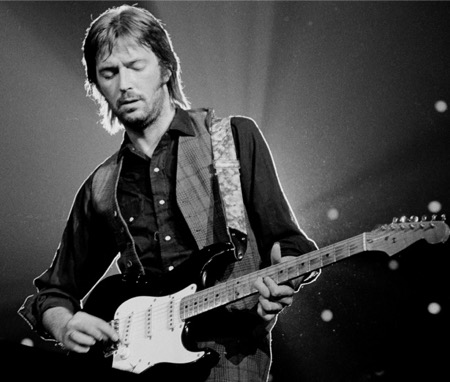 eric clapton played guitar with the beatles