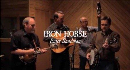 iron horse enter sandman metallica