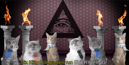 kitty media companies illuminati