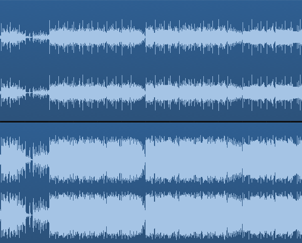 before and after mastering