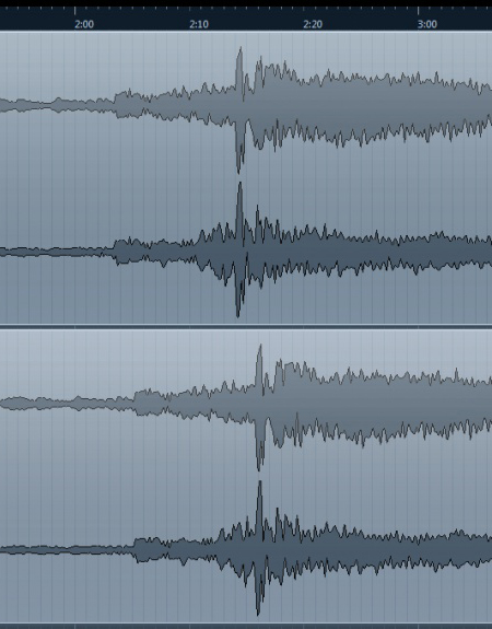 misaligned audio tracks