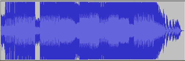overly compressed waveform with no dynamics