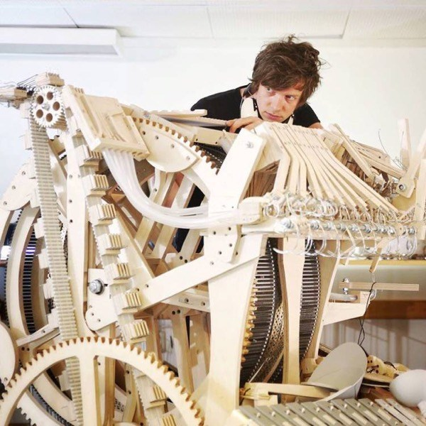 Marble Music Machine Wintergatan