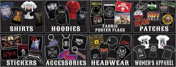 band merchandise