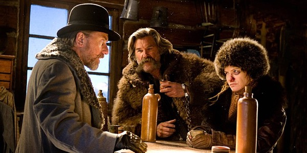 hateful eight quentin tarrantino kurt russel guitar
