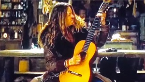 historical martin guitar on hateful eight movie