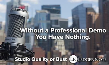 professional demo studio quality