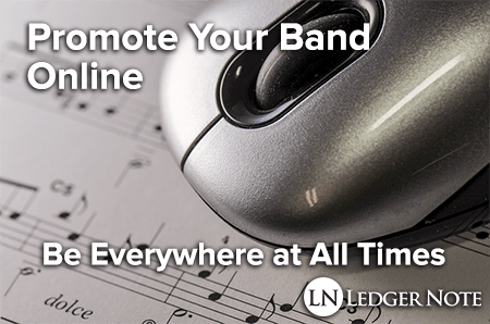 promote your band online