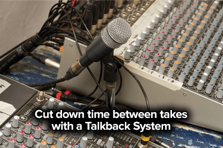 talkback system mic for studio booth recording-1