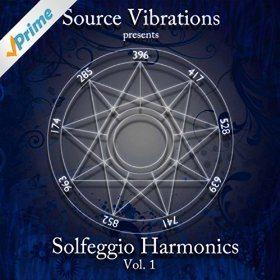 solfeggio harmonics album cover
