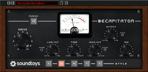 soundtoys decapitator saturation plugin