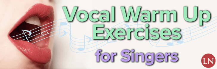 vocal warm up exercises for singing