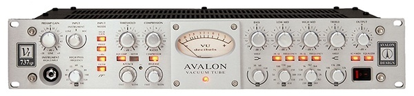 Avalon VT 737sp, one of the best vocal compressors on the market