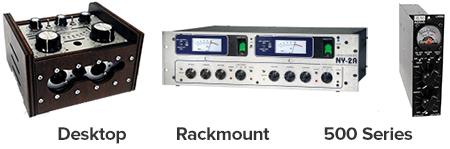 desktop versus rackmount versus 500 series compressors