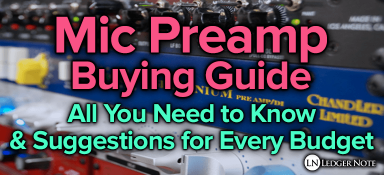 mic preamp buying guide