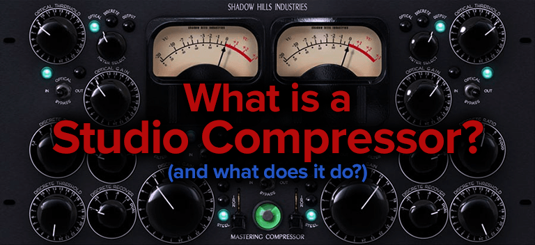 what is a studio compressor?