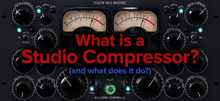 what is a studio compressor?