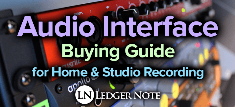 audio interface buying guide for home & studio recording