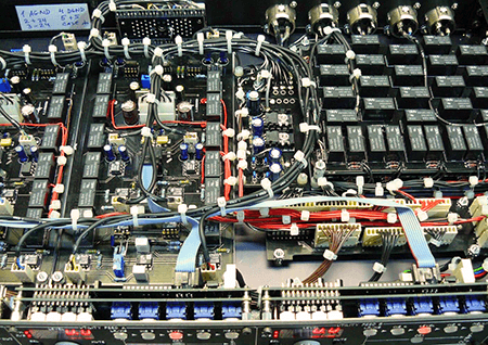 circuit board and electronics of recording interface