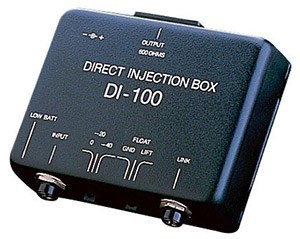 direct injection box unbalanced to balanced signal