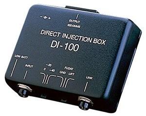 direct injection box unbalanced to balanced signal