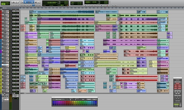 how to arrange a song in post-production